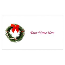 templates cards tent cards christmas wreath small tent card 4 per
