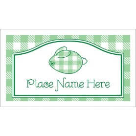 templates cards tent cards gingham easter bunny small tent card 4 per