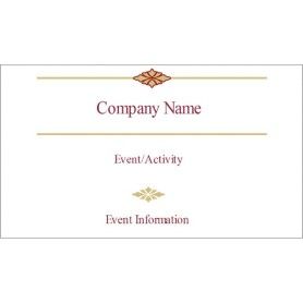 templates burgundy border small tent cards 4 per sheet avery