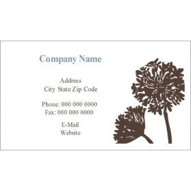 templates brown tree business cards 10 per sheet avery