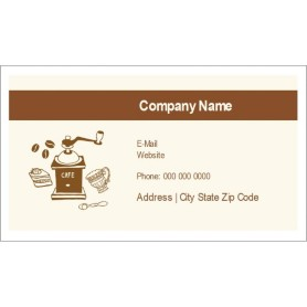avery template 28371 business cards - templates coffee grinder business cards 10 per sheet