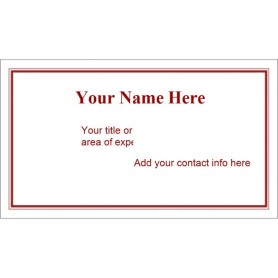avery template 28371 business cards - templates maroon border business card 10 per sheet avery