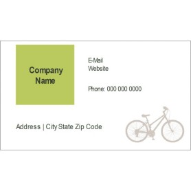 templates grey bicycle business cards 10 per sheet avery