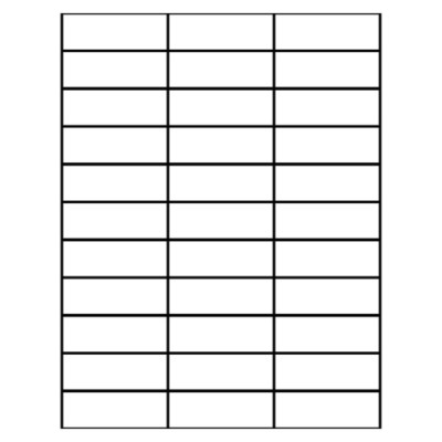 Avery 8160 blank template search results calendar 2015 for Avery dennison label templates