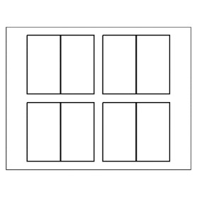 Free avery template for microsoft word folded business for Avery blank templates for microsoft word