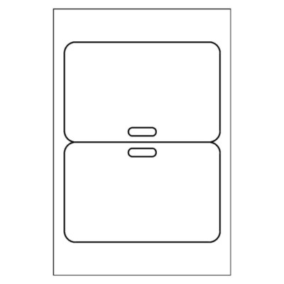 free avery 174 template for microsoft word fold clip badge