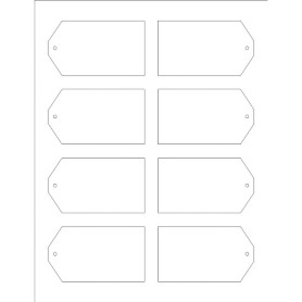 templates printable tags with strings 8 per sheet wide avery. Black Bedroom Furniture Sets. Home Design Ideas