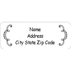templates martha stewart whimsical wedding border return address label 60 per sheet avery. Black Bedroom Furniture Sets. Home Design Ideas