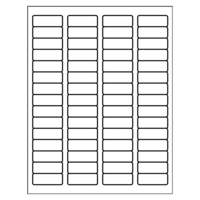 Return Address Label, 60 per sheet