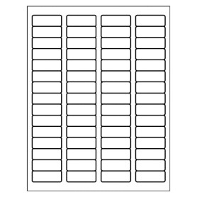 avery 18695 template templates return address label 60 per sheet avery