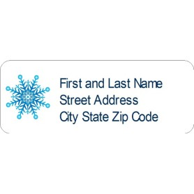templates snowflake return address labels 60 per sheet avery