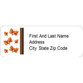 templates thanksgiving fall leaves return address labels 60 per sheet avery. Black Bedroom Furniture Sets. Home Design Ideas