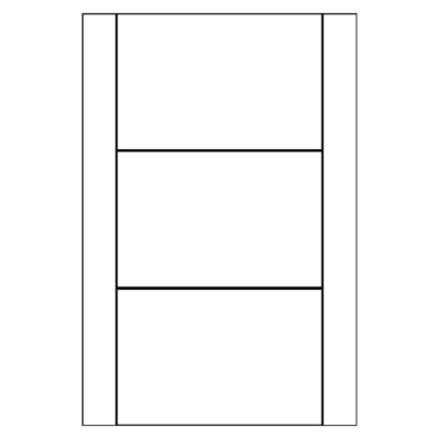Multi-Use Labels, 3 per 4x6 sheet, 2222