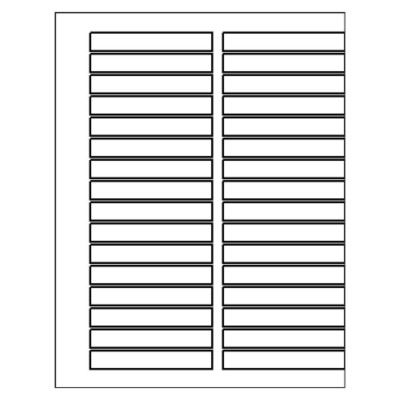 Double-Column Ready Index TOC Dividers, 32-Tab, Quick-fill template for Microsoft Word version 2002-2007
