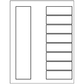 Templates ready index dividers toc classic 8 tab for Index divider templates