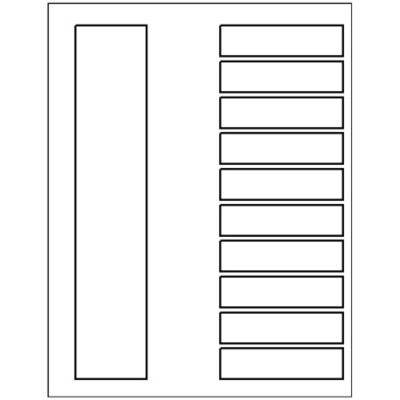 Templates Ready Index Dividers Toc Classic 10 Tab