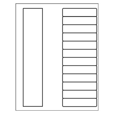 Ready Index TOC Dividers, Jan-Dec, black & white, DOC file for Microsoft Word all versions