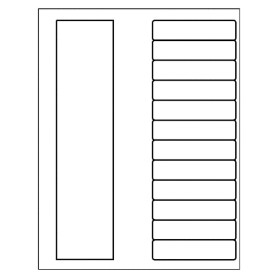 templates ready index dividers toc classic 12 tab. Black Bedroom Furniture Sets. Home Design Ideas