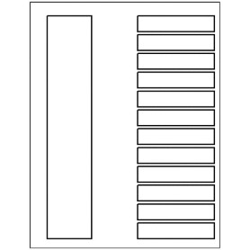 Templates ready index dividers toc classic 12 tab for Avery index tabs template