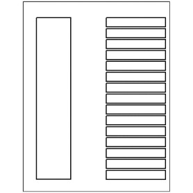 Templates ready index dividers toc classic 15 tab for Index divider templates