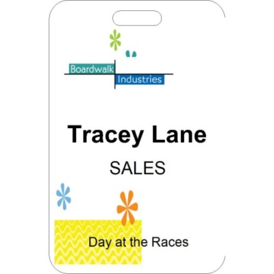 Summer Event Name Badge, 3 per sheet, 74554