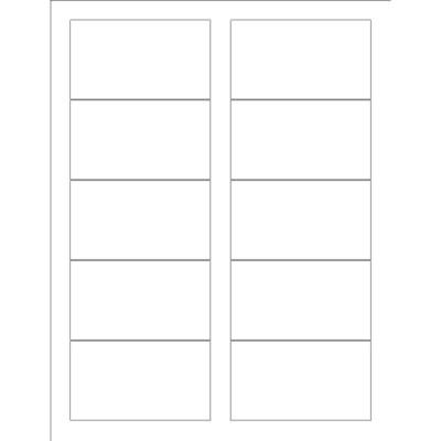 business card template 10 per sheet