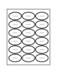 Templates oval labels 18 per sheet avery for Avery label templates for mac pages