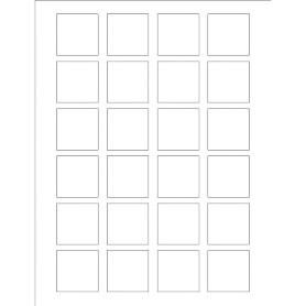 templates print to the edge square labels 24 per sheet avery