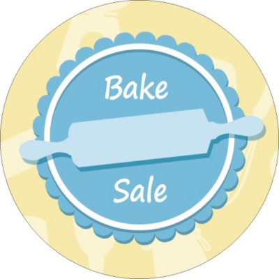 Templates Fundraising Bake Sale Round Labels 12 Per