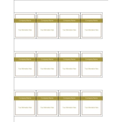 Lattice Design Shelf Tags, 12 per sheet