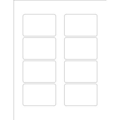 8 per page label template