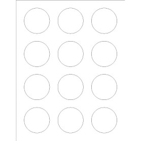 Templates round labels foil 12 per sheet adobe for Avery 2 round label template