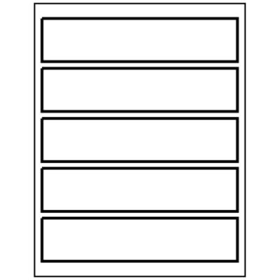 Templates Wrap Around Address Labels 5 Per Sheet Avery