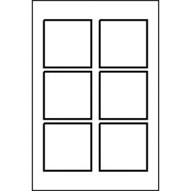 Templates kraft square label 6 up 10 sh avery for How to set up label template in word