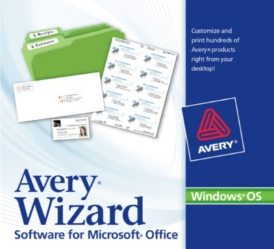 How to Find a Template in Avery Wizard Software for Microsoft® Office