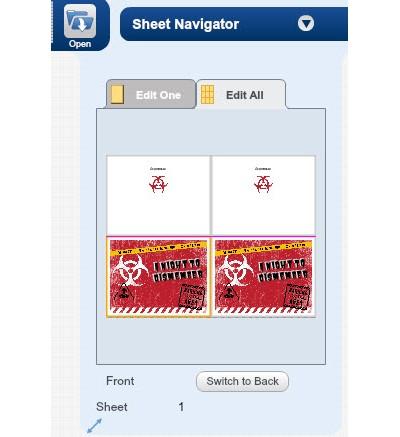 Sheet Navigator