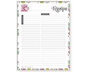 full page recipe template for word - avery design print online recipe binder templates