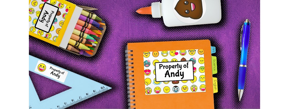 How can you get them excited about the year ahead? Let them DIY their school supplies!