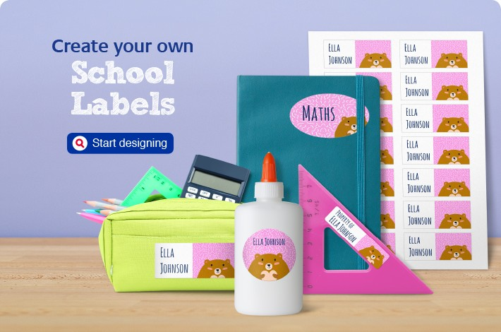 Create your own School Labels