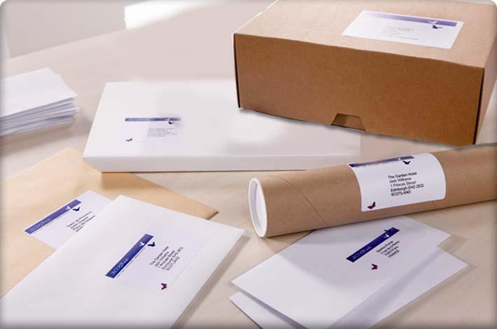 adresetiketten, voor iedere toepassing een etiket