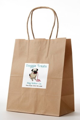 Create Doggy Bags of Treats for Your Dog Clients
