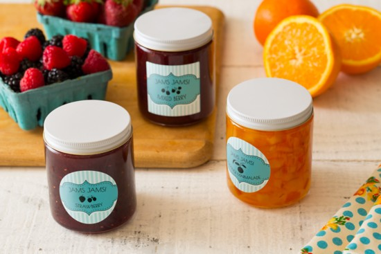 Jam Product Labels