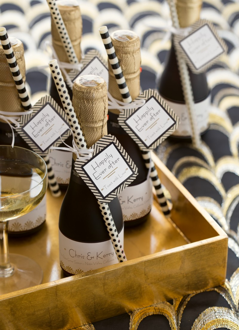 Avery Art Deco Champagne Tags Link