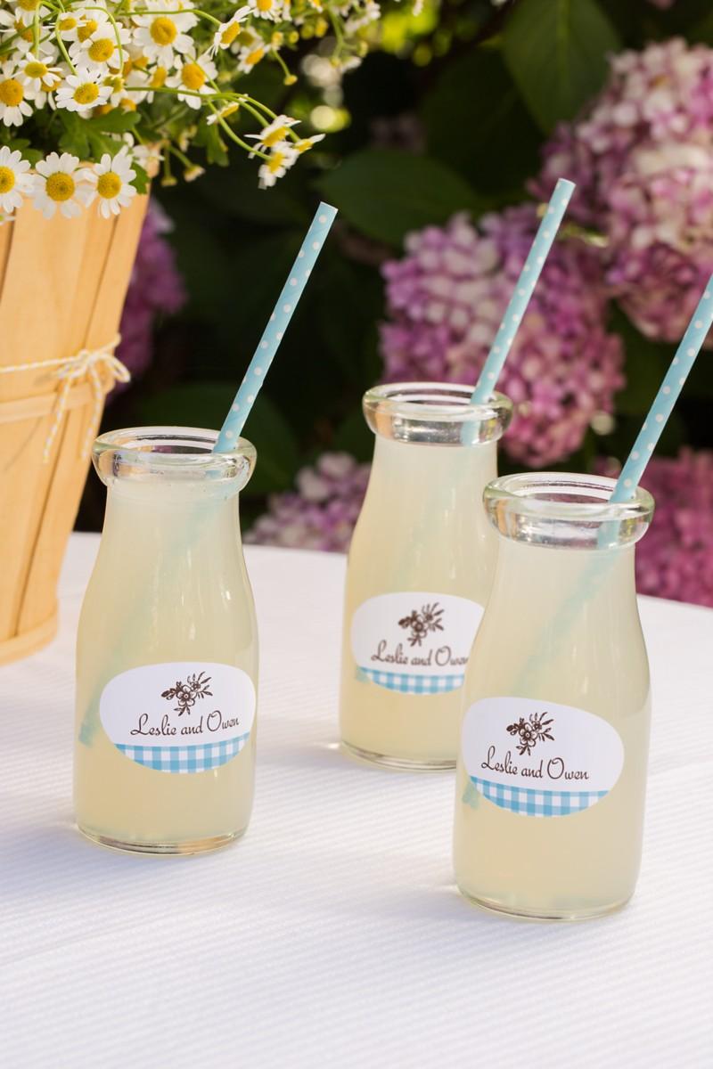 Country Brunch Wedding Lemonade
