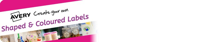 Create Your Own Shaped & Coloured Labels