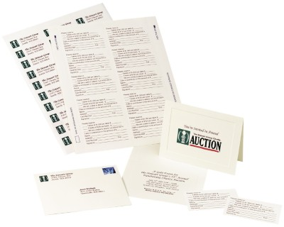 Create All-in-One Invitation and Response Cards