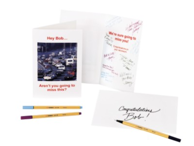 Make a Personalized Retirement Card