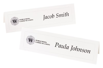 Plan an Effective Meeting with Tent Cards