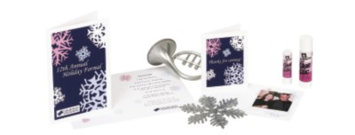 Create Your Own Holiday Party Programs and Photo Memento Cards