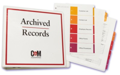 Create a Master Binder for Important Documents
